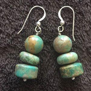 Jay King genuine turquoise earrings